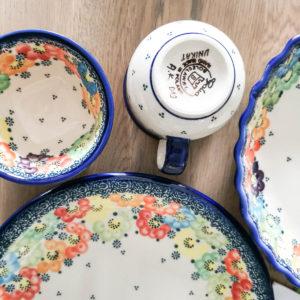 Ceramika bolesławiecka Galia U-V3 i A-V3