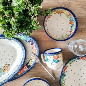 Ceramika Bolesławiec Galia U-V3 i A-V3