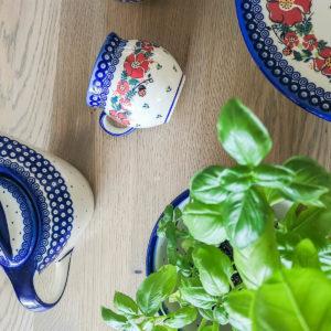 Polish Pottery Ceramika Galia U-WP and U-P2
