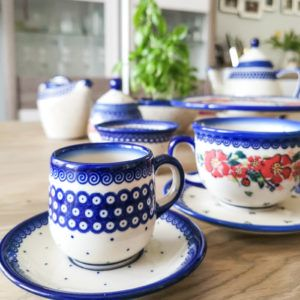 Boleslawiec Pottery Ceramika Galia U-WP and U-P2