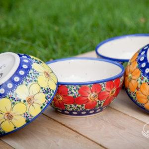 Ceramika Bolesławiec Galia kwiaty