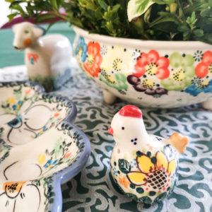 ceramika Bolesławiec Galia Wielkanoc