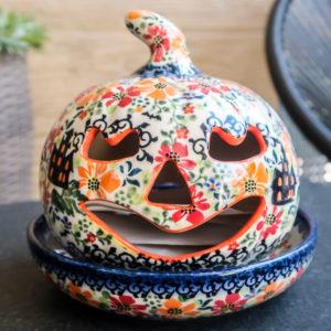 Polish Pottery Galia Ceramika A-H2 halloween