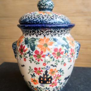 Polish Pottery Ceramika Galia A-H2 Halloween
