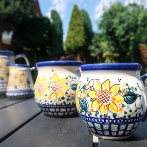 Polish Pottery Galia Ceramika A-SN - sunflower