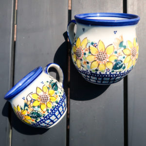 Polish Pottery Galia Ceramika A-SN - sunflower