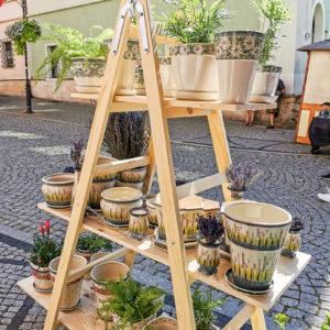 Polish Pottery Ceramika Galia - flower pots