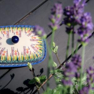 Polish Pottery Ceramika Galia U-LA - Lavender