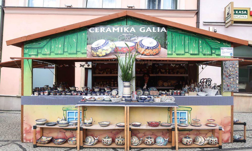 Święto Ceramiki stoisko Galia